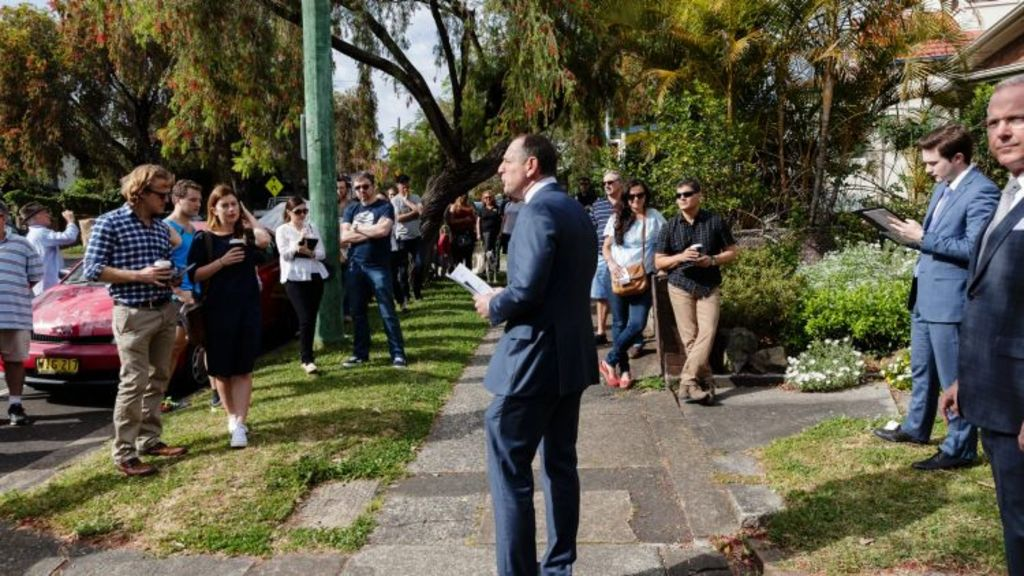 Four of the five registered bidders for 388 Catherine Street were first-timers. Photo: Brook Mitchell