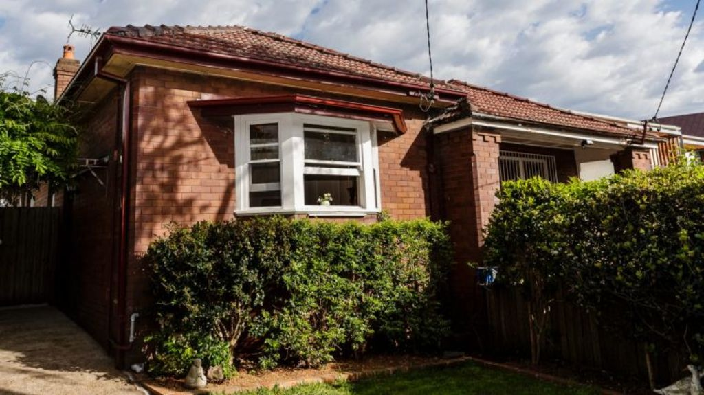 Under the hammer: 388 Catherine Street, Lillyfield sold for $1,426,000 on Saturday. Photo: Brook Mitchell
