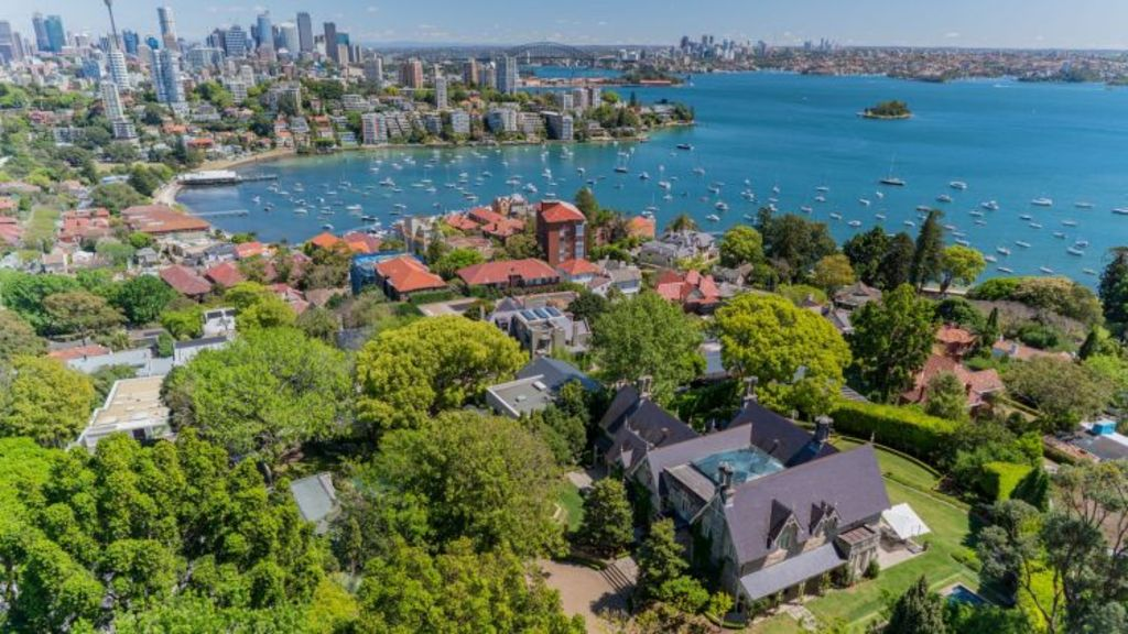 Rona has one of Bellevue Hill's best views, spanning from the Opera House and Harbour Bridge across to Mosman in the north. Photo: Supplied