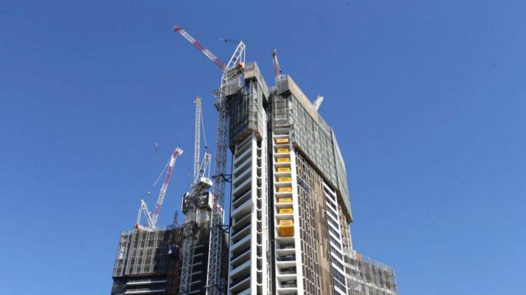 There are growing concerns about apartment oversupply, off-the-plan sales, and, in some areas, falling prices. Photo: Louise Kennerley