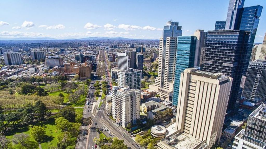 The Melbourne CBD was one of the 120 postcodes for which lending will be capped. Photo: Supplied