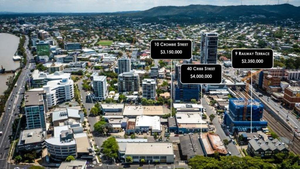Three commercial properties sold for $9.5 million this month. Photo: Supplied