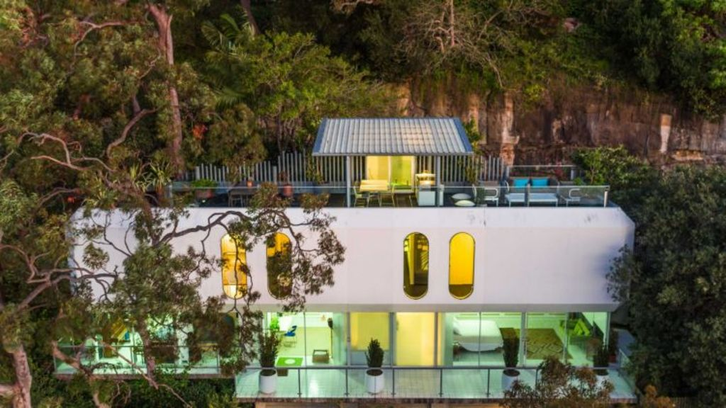 The iconic 1960s residence The Collins House is up for sale for $4 million. Photo: Mind The Gap