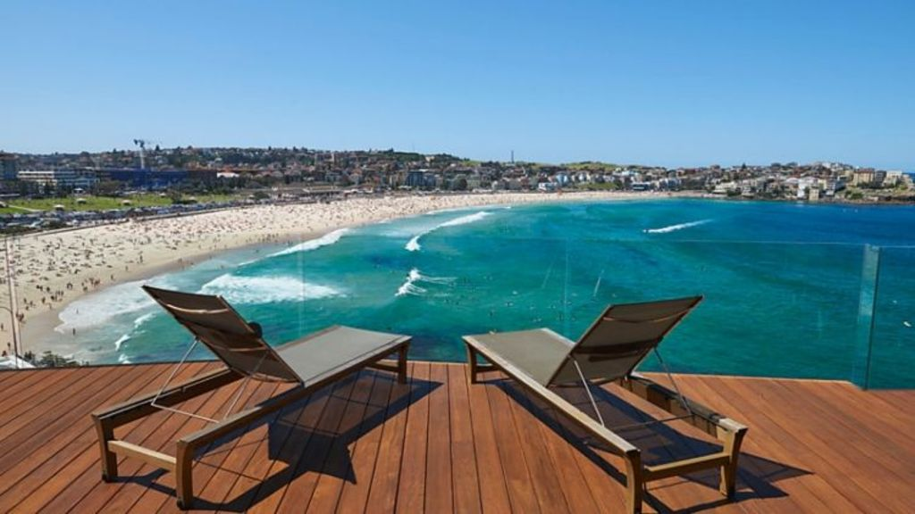 Mayo Hardware director James Mayo has paid $9.8 million for the Bondi Beach penthouse of former Glencore coal executive Vaughan Blank. Photo: Supplied.