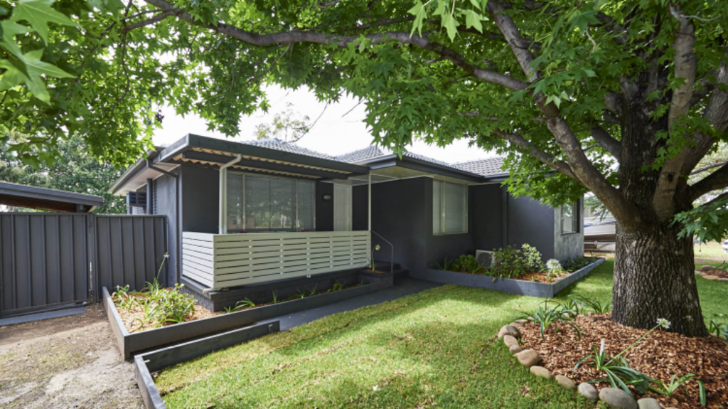 After: The home in Emu Plains following its $35,000 renovation. Photo: Cherie Barber