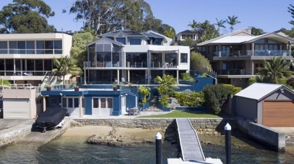 The most expensive sale of the week: 22 Grosvenor Crescent, Cronulla, sold for $5.25 million. Photo: Greg Gilbert