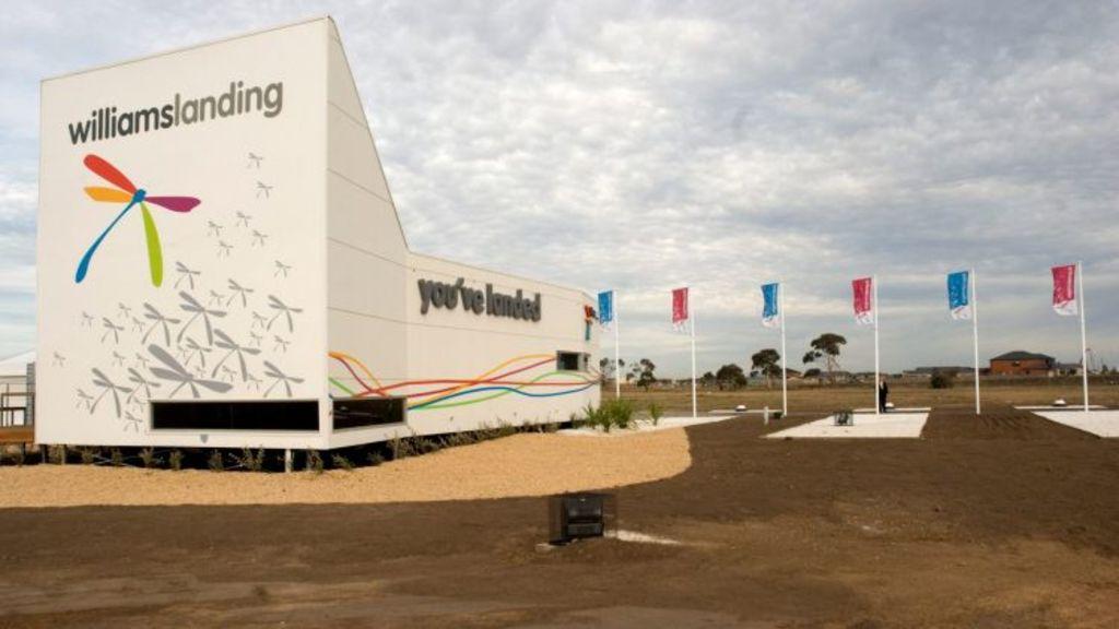 Williams Landing in 2008, as development began. Photo: BJOHANSON@theage.com.au