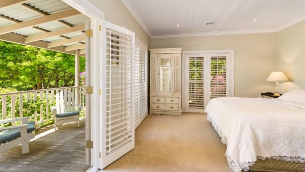 French doors lead off several rooms to the outdoors at 23 Burrawang Station Road.