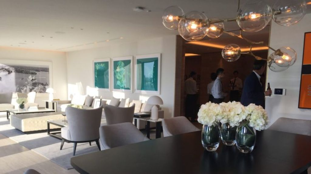 The display suite of the Opera Residences penthouse. Photo: Supplied