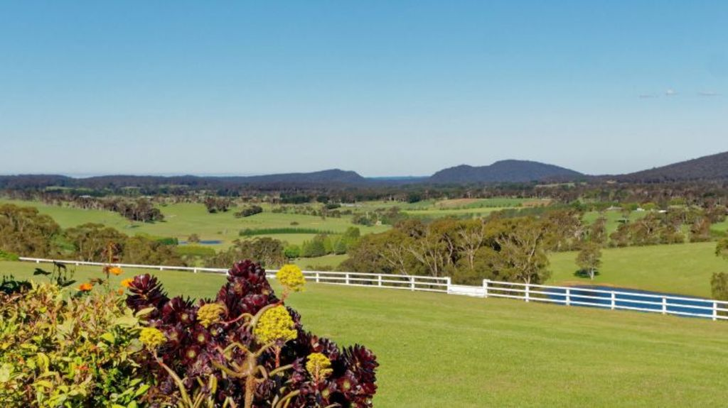The 80-hectare spread includes extensive equine facilities. Photo: Supplied