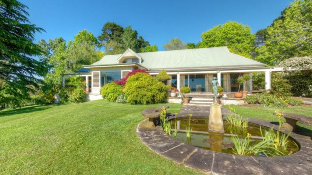 Apart from the main homestead, Judith Street's property Coolaroo, in Berrima, includes a guest house, a hangar and an airstrip. Photo: Supplied