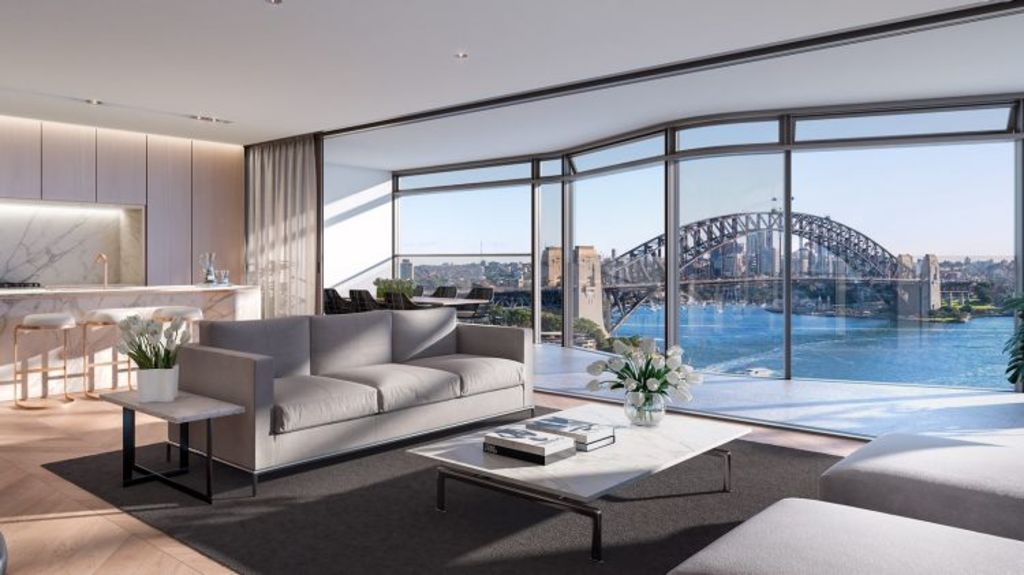 They will offer stunning views of the harbour and city. Photo: Opera Residences.