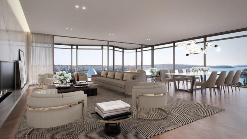 A display suite for the Opera Residences. Photo: Supplied.