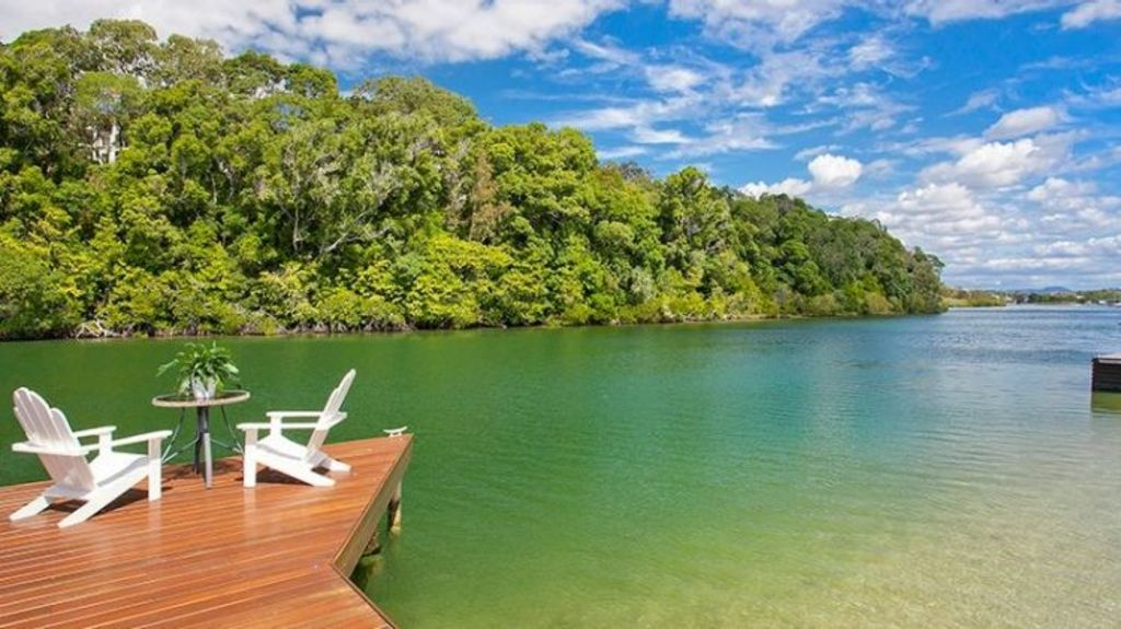 People coming up from Sydney and Melbourne are blown away by the fact they can sell their modest house and buy a waterfront home for the same price. Photo: Tom Offermann Real Estate