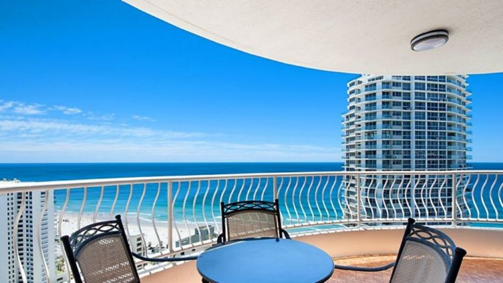 An older style apartment at 30 Laycock Street in Surfers Paradise is currently on the market. Photo: Supplied