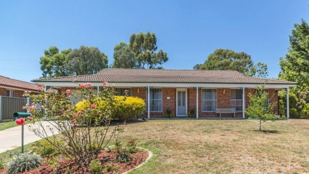 3 Phoenix Place, a three-bedroom house on a 717.4-square-metre block, is on the market for $345,000. Photo: Domain