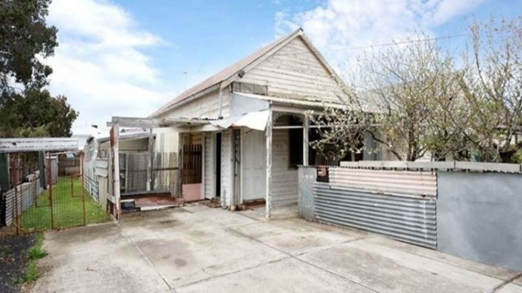 A 530 square-metre knockdown site in West Footscray sold for $1,061,000 last month. Photo: Burnham
