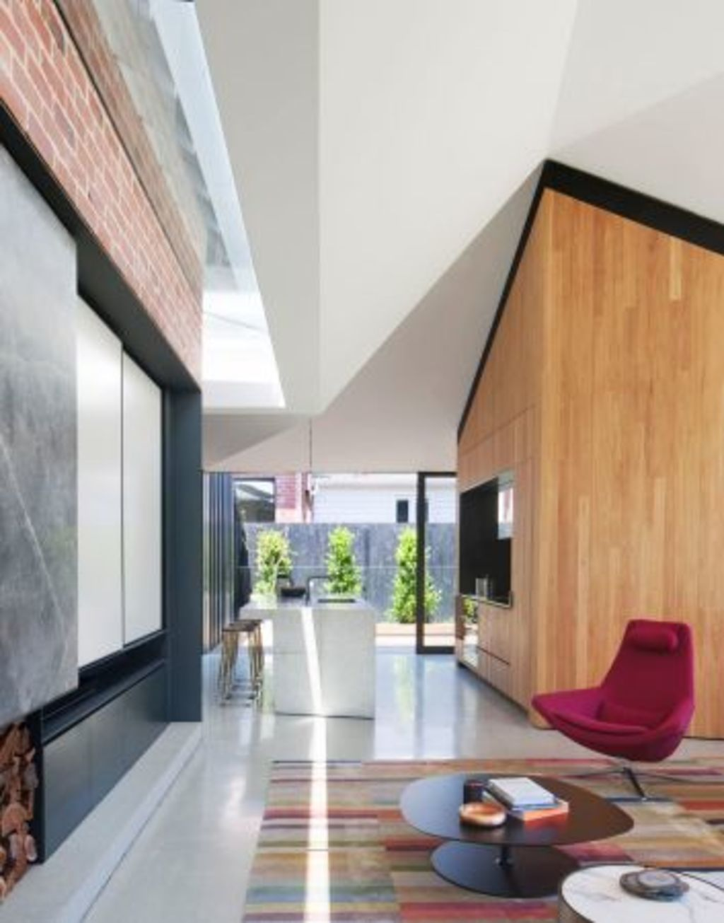 Shadow House in Elsternwick by architect Matt Gibson. Photo: Shannon McGrath