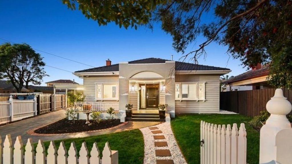 The art deco house on Balmoral Avenue in Strathmore sold for $1.5 million after failing to sell for less last year. Photo: Rendina
