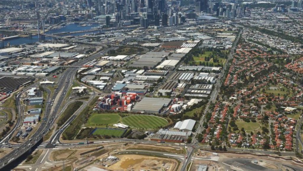 Nothing quite says opportunity missed more than Fishermans Bend. Photo: Joe Armao