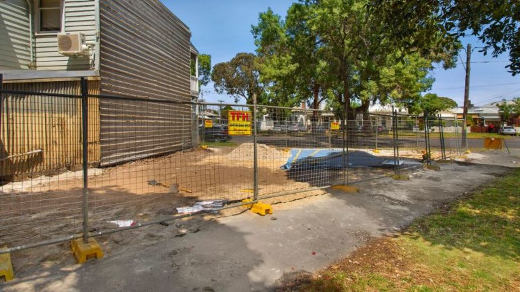 $1.65 million was paid for a 137 square-metre triangle at 50 St Vincent's Street, Albert Park in December. Photo: Jasmine Mak