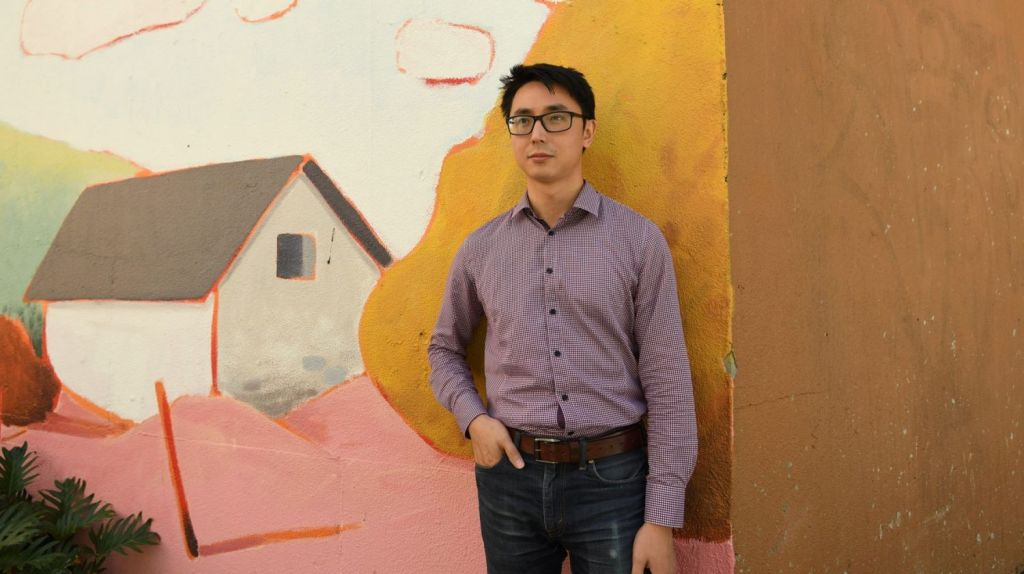 Michael Zhu is a 30 year old rentvestor with five investment properties to his name. He believes rentvesting is the answer to growing wealth and living where you want to live. Photo: Louise Kennerley