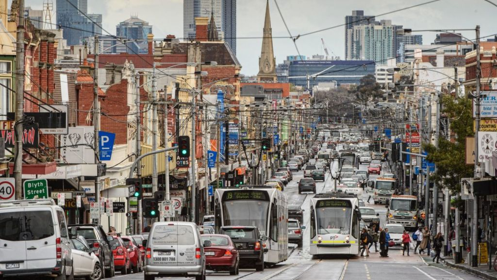 Sydney Road, Brunswick, is a humming hotspot and an attractive proposition for buyers. Photo: Vince Caligiuri