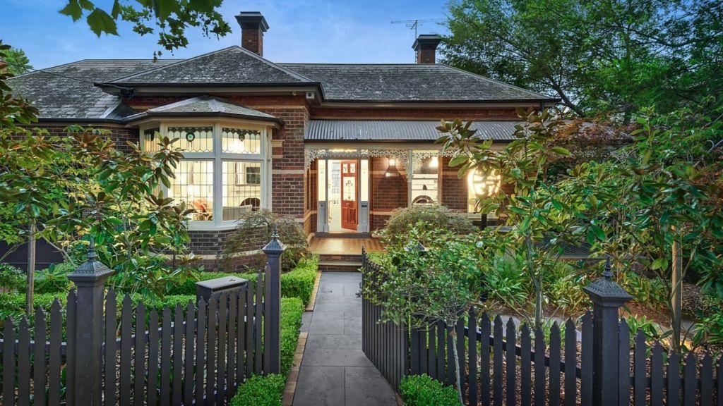 This four-bedroom Hawthorn brick Victorian at 4 Victoria Avenue, Canterbury, has no heritage overlay. Photo: Jellis Craig