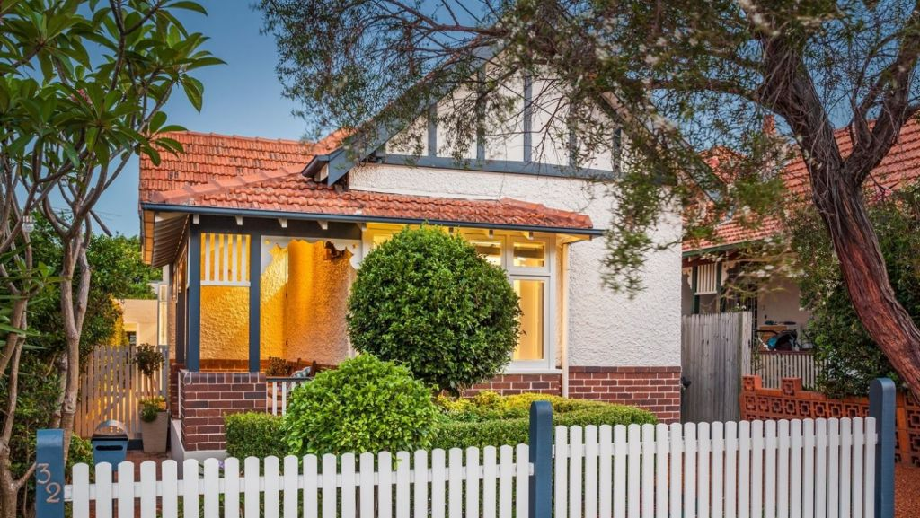 Three-bedroom 32 Lindsay Street, Burwood, is expected to attract a crowd at auction on Saturday. Photo:  Richard Matthews Real Estate