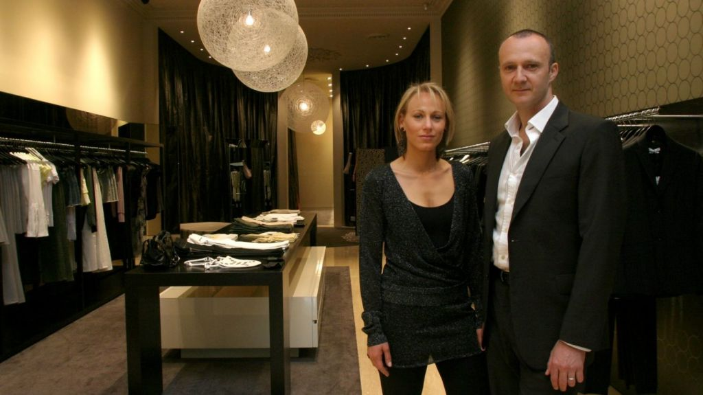 Danielle and Daniel Besen reportedly split last year, selling off their multi-million property portfolio. Photo: Cathryn Tremain