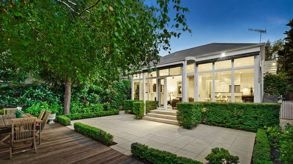 Two bidders competed for the renovated Armadale property. Photo: Jellis Craig