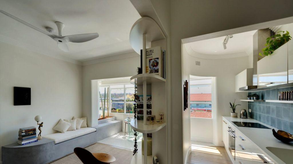 Architect Adele McNab's art deco apartment. Photo: Michael Nicholson Photography