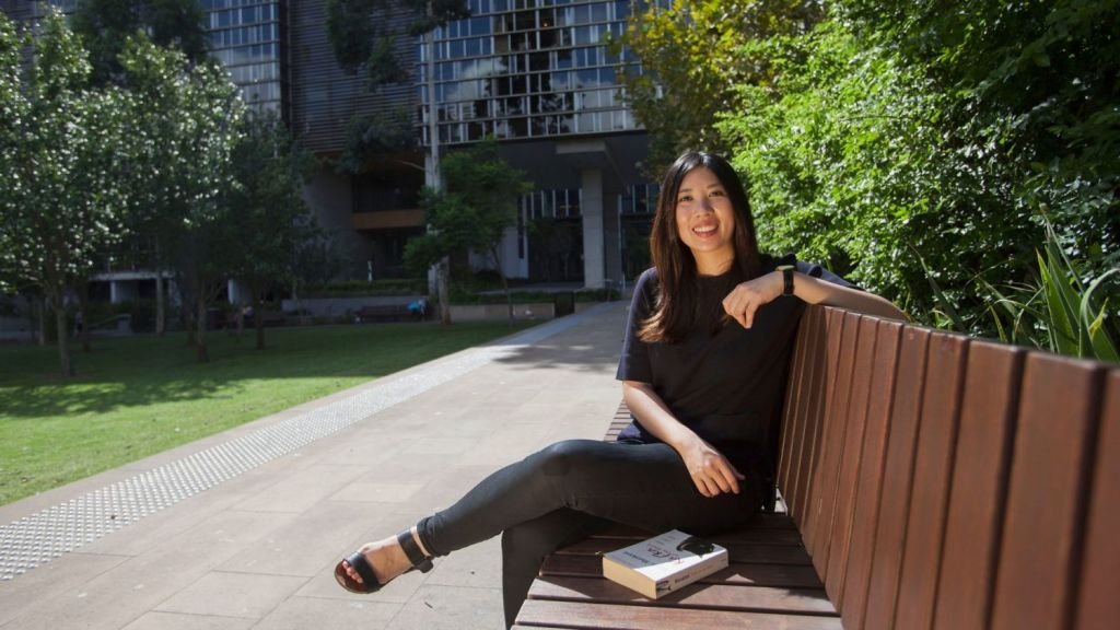 When Cindy Erlina was looking for an apartment to buy, she deliberately set out to find one sitting in lots of greenery. Photo: Fiona Morris