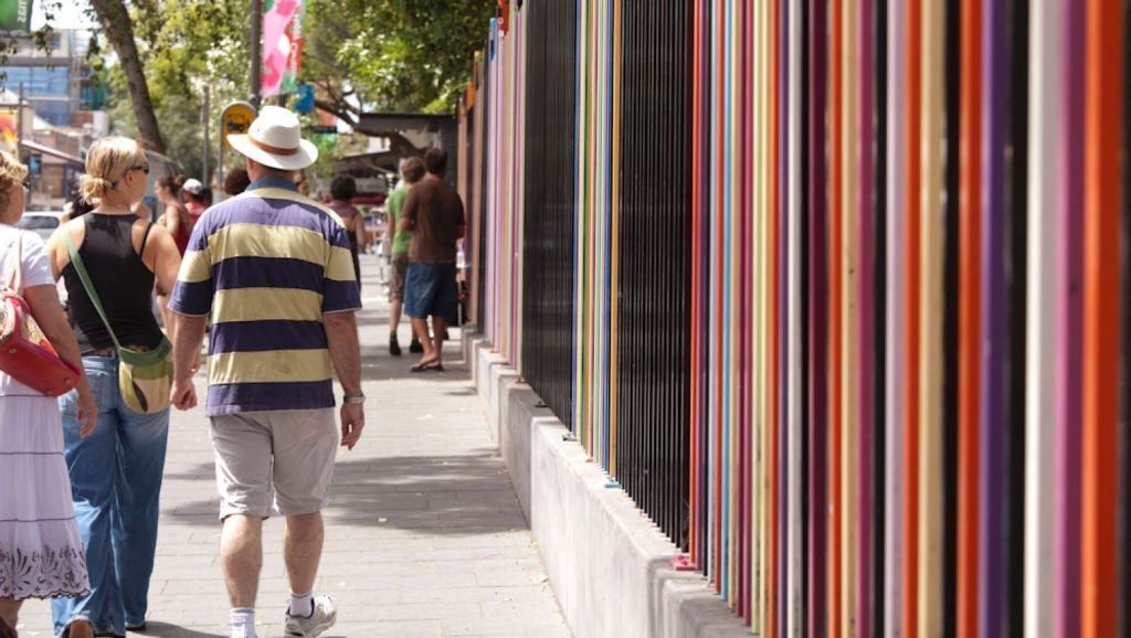 Walking distance: Glebe is on the rise. Photo: City Art Sydney