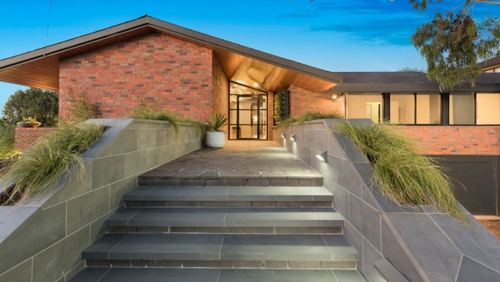 An exceptionally large and wonderful example of '70s housing, this Doncaster home may soon set a price record. Photo: Fletchers Real Estate