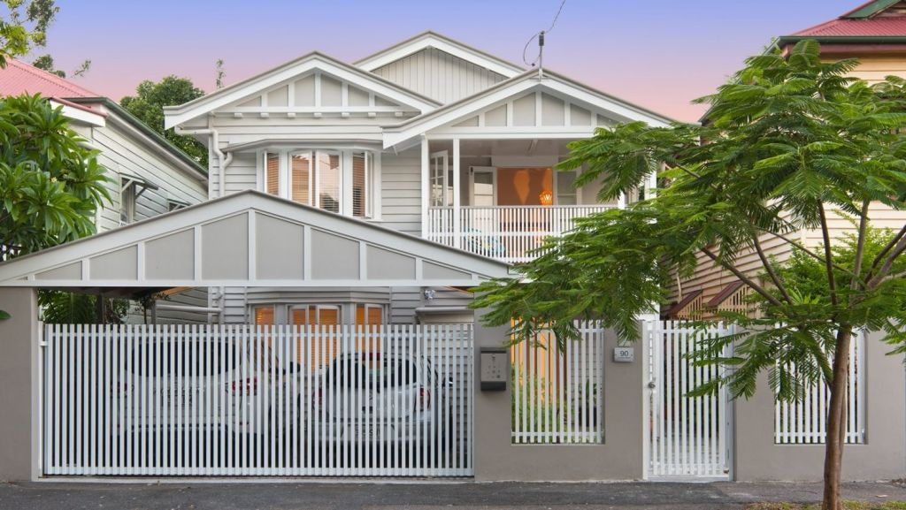 90 Villiers Street, New Farm, is currently for sale looking for offers close around $1.7 million to $1.8 million. Photo: Supplied