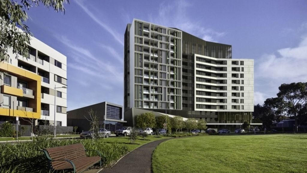 New apartment developments are breathing fresh life into the former Commonwealth Games athletes' village. Photo: Supplied
