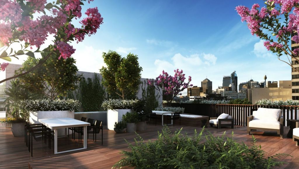 The Surry will also have rooftop spaces for residents to enjoy. Photo: Artist's impression