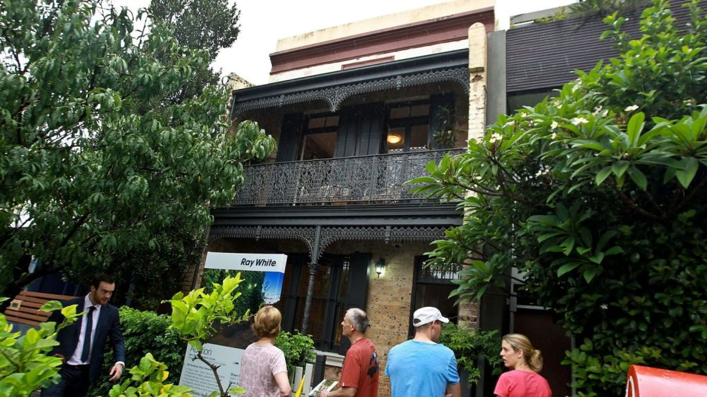 The terrace sold for $2.01 million, more than triple what it last sold for. Photo: Ben Rushton