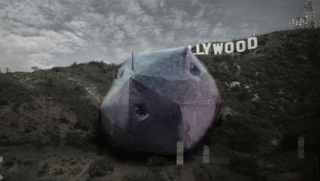 This otherworldly project, named Ambivalent House, has been named the house of the future. Photo: Hirsuta
