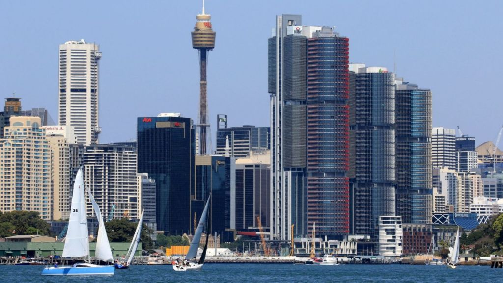 Sydney is the ninth most expensive financial centre in the world to rent a one-bedroom apartment. Photo: Kirk Gilmour