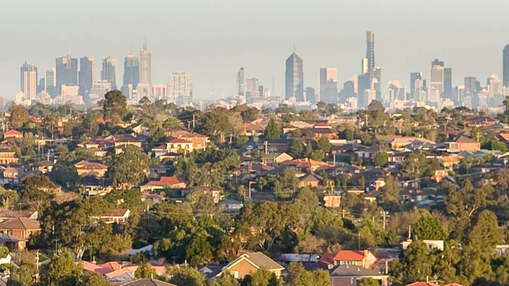 Melbourne is likely to have a median house price of $1 million by the end of next year. Photo: James Davies