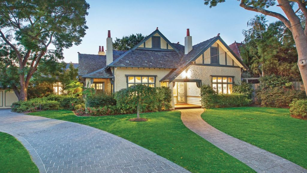 This house at 31 Mangarra Road, Canterbury, has no overlays. Photo: Marshall White