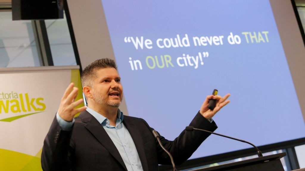 'You are very focused on how many floors your tall buildings are and most of your tall buildings are badly designed': Brent Toderian. Photo: Wayne Taylor