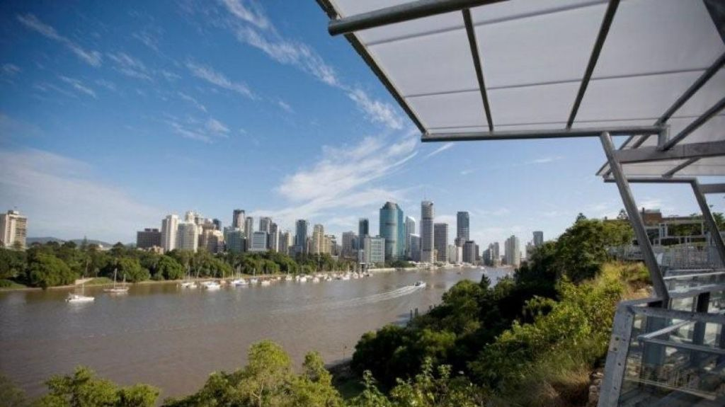 The view from Kangaroo Point, Brisbane, across the the Botanical Gardens and CBD. Photo: Supplied