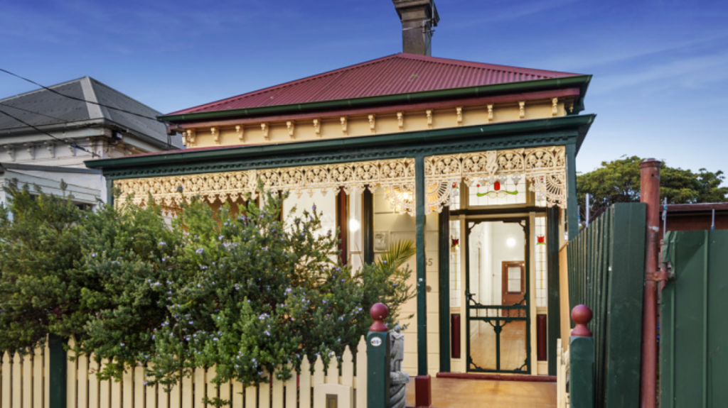 35 Railway Place, Williamstown sold for $1.29 million on Saturday.