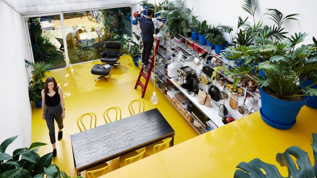 Yellow House by Austin Maynard Architects. Photo: Tess Kelly
