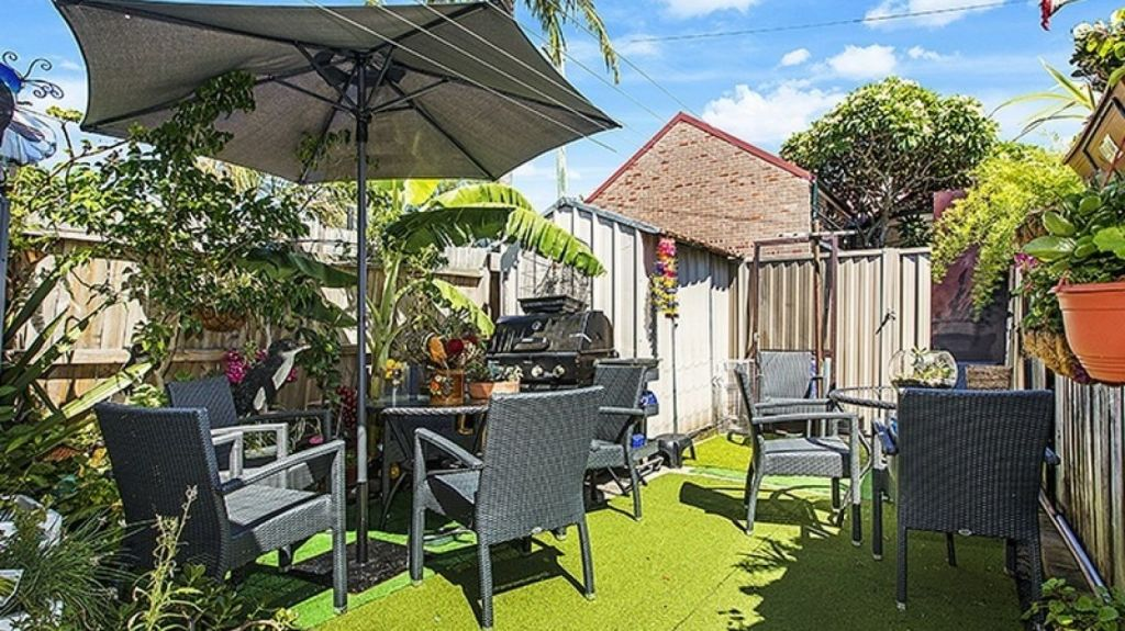 The tiny property on 126 square metres. Photo: Supplied.
