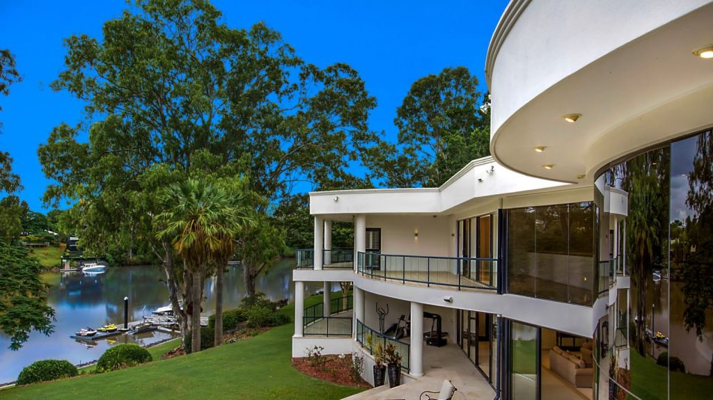 The Needham Street property is one of only a few in Brisbane to own exclusive river frontage. Photo: Supplied