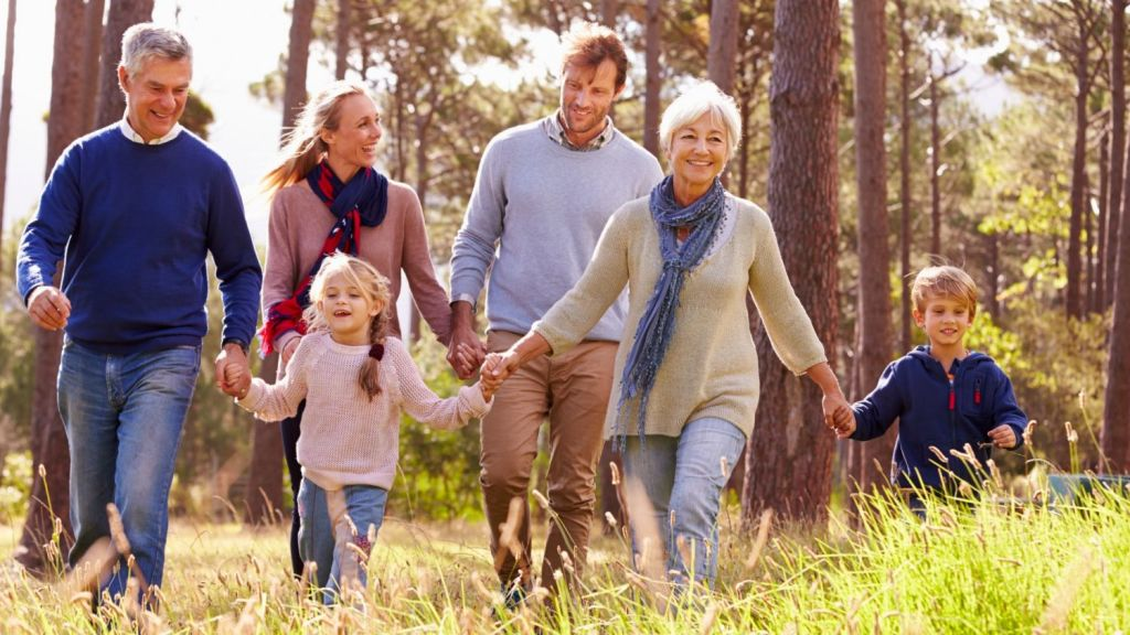 More than 50 per cent of those surveyed for the book, Living Together: The rise of multigenerational households in Australian cities, said that the reason for multigenerational living were financial reasons. Photo:  Supplied